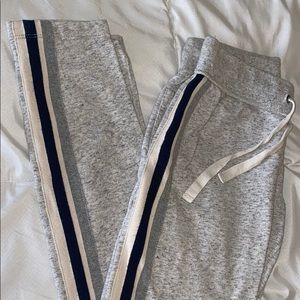 J.Crew joggers with side stripe detail! Size XXS